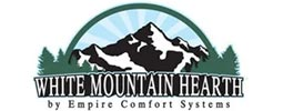 Woodall Heating & Cooling carries White Mountain Hearth fireplaces.